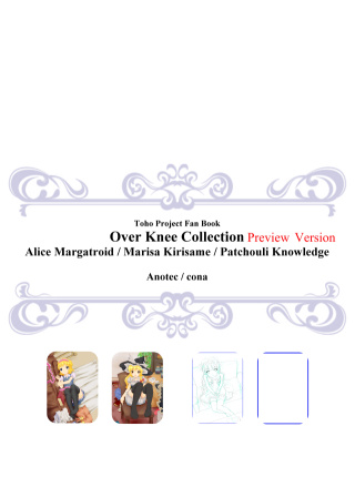 Over Knee Collection Preview Version(コピ本)